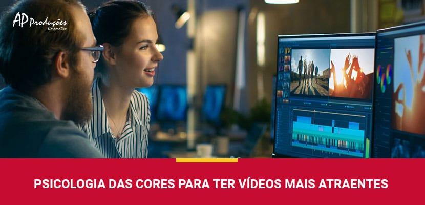 Psicologia das Cores: Como Ter Vídeos Mais Atraentes